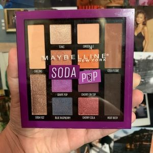 "MAYBELLINE ""SODA POP"" PALETTE BRAND NEW"